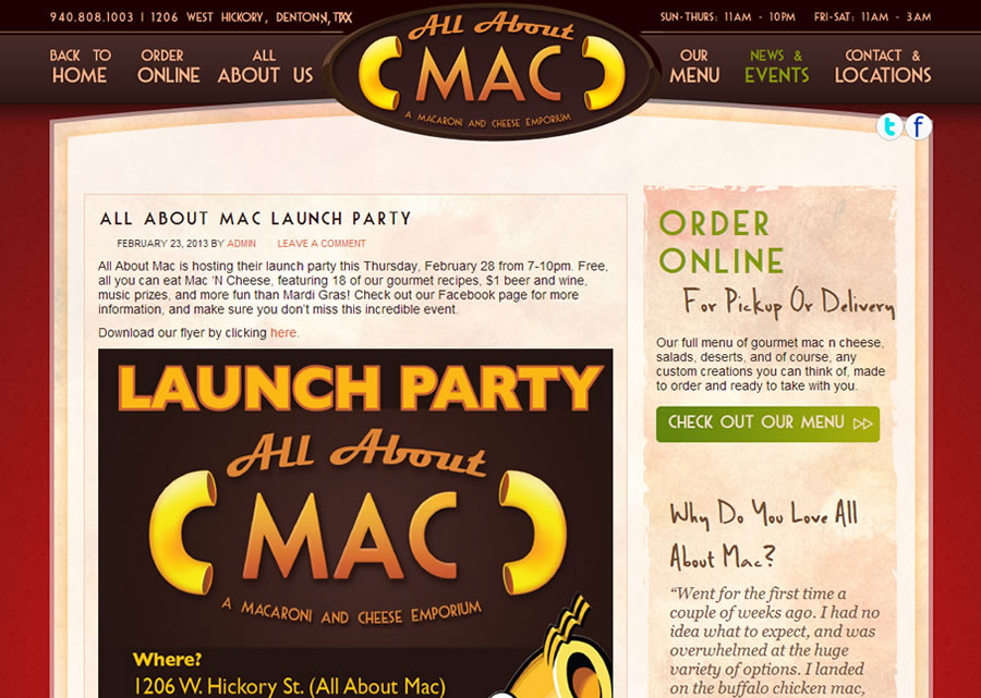 All About Mac Website Design by Guido Media