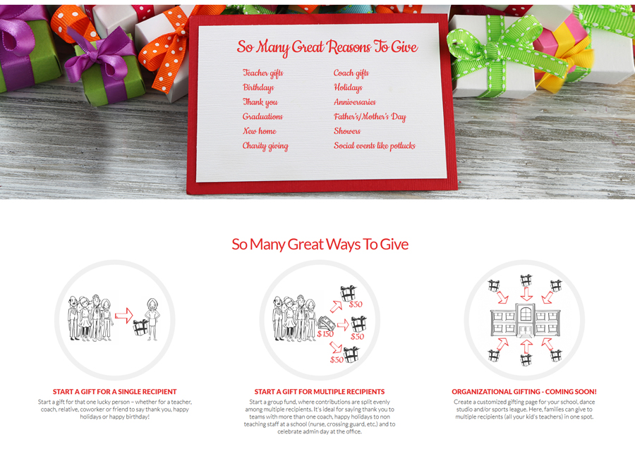 The Gifting Bunch Website Design by Guido Media