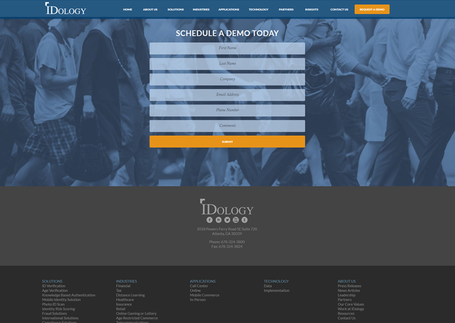 IDology Website Design by Guido Media