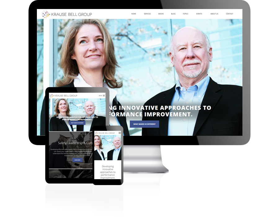 Krause Bell Group Website Design by Guido Media