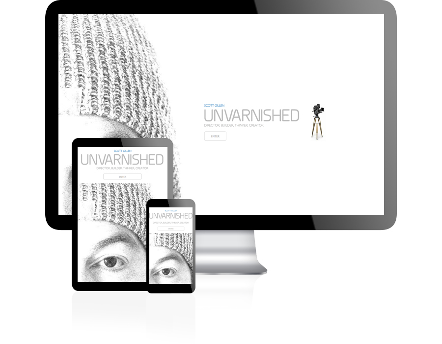 Unvarnished Website Design by Guido Media