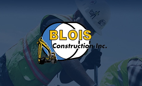 Blois Construction, Website Design Client, Guido Media