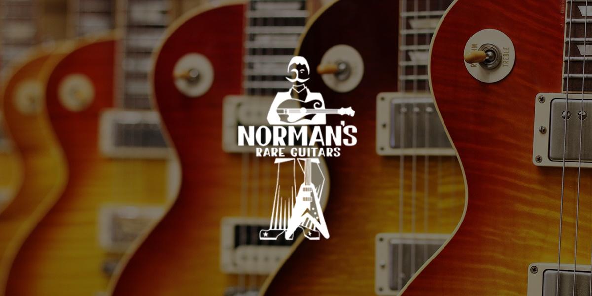 Norman's Rare Guitars, Website Design Client, Guido Media