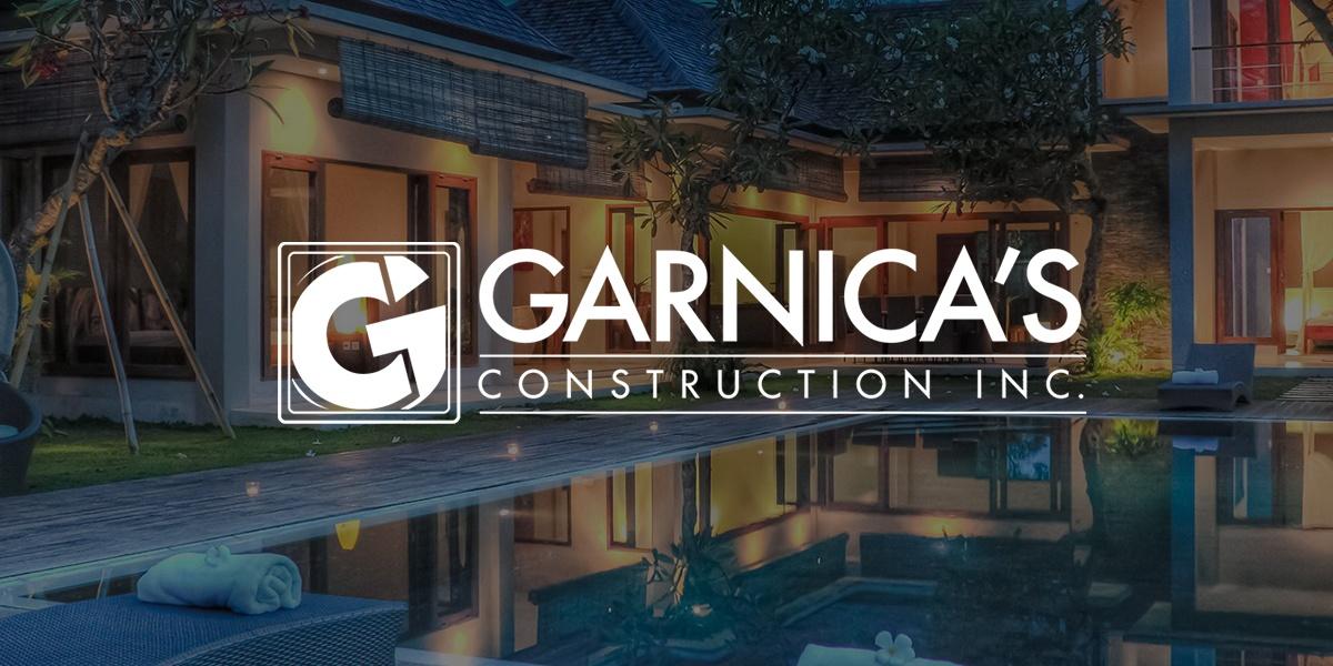 Garnica's Construction, Website Design Client, Guido Media